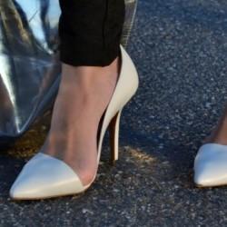 Ekru Stiletto Ayakkabı Modelleri