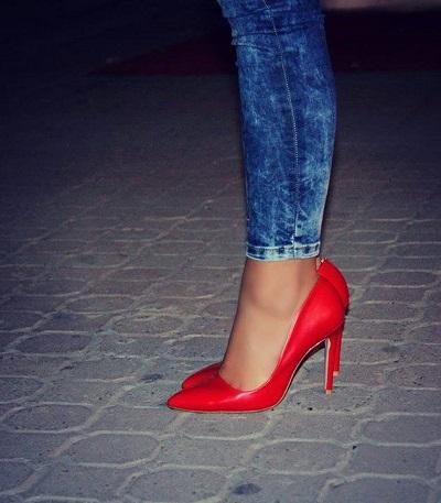 Kırmızı Stiletto Ayakkabı Modelleri