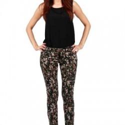 Kamuflajlı Kot Yazlık Pantolon Modelleri