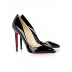 Parlak Siyah Stiletto Ayakkabı Modelleri