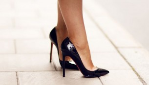 Patlıcan Moru Stiletto Ayakkabı Modelleri