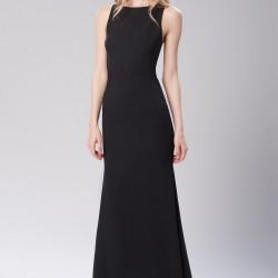Sıfır Kol Siyah 2015 Mezuniyet Elbisesi Modelleri