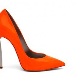 Turuncu Stiletto Ayakkabı Modelleri