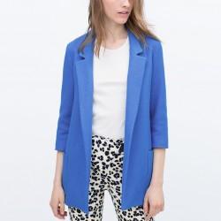 Uzun Blazer Zara 2015 Ceket Modelleri