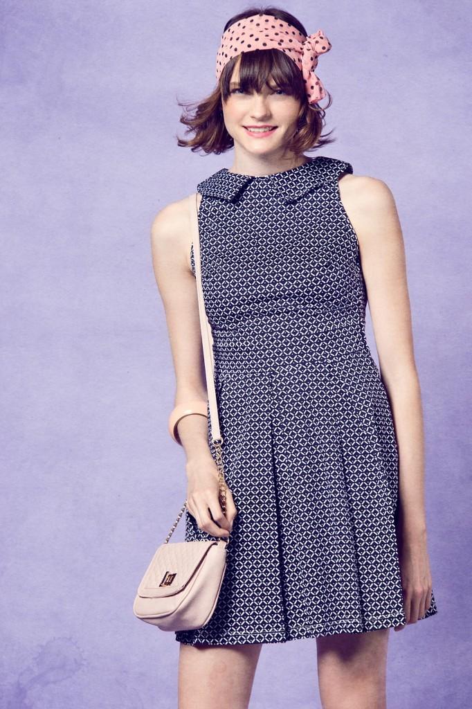 Desenli Dilvin Elbise Modelleri