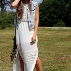 Kaliteli 2015 Beyaz Elbise Modelleri