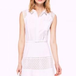 Kemik Beyazı İpekyol Elbise Modelleri