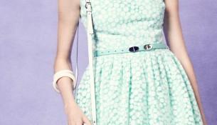 Mint Rengi Dilvin Elbise Modelleri
