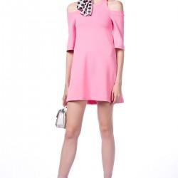 Pembe Dilvin Elbise Modelleri