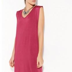 Pembe Kolsuz Bayram İçin Elbise Modelleri