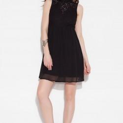 Siyah Dantelli Vero Moda 2015 Elbise Modelleri