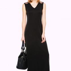 Uzun Siyah İpekyol Elbise Modelleri