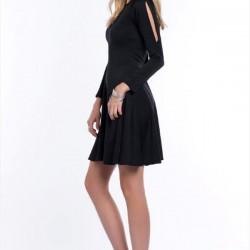 Yeni Siyah Vavist Elbise Modelleri