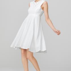 Zarif 2015 Beyaz Elbise Modelleri