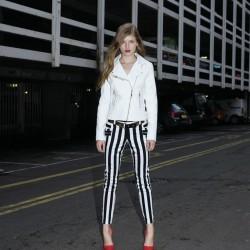 İddialı Çizgili Pantolon Modelleri