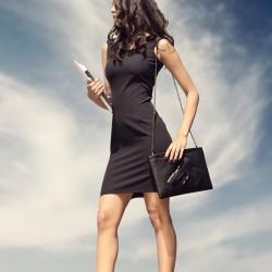 İddialı Siyah Elbise İroni 2015 Modelleri