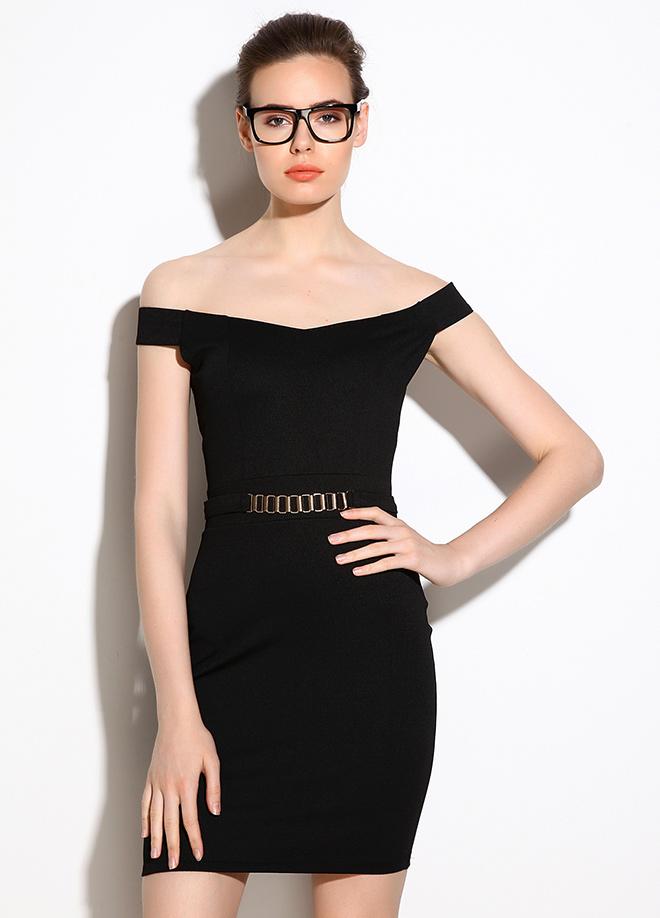 Şık Siyah Elbise Modelleri
