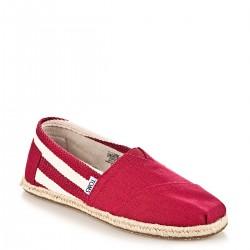 Bordo Toms Yazlık Ayakkabı Modelleri