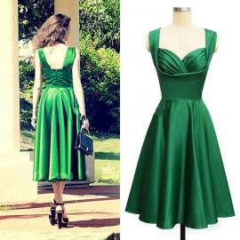 Dizaltı 2015 Zümrüt Yeşili Elbise Modelleri