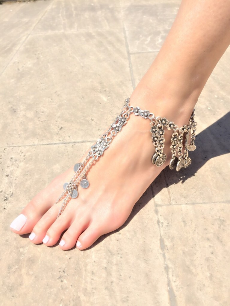 Gümüş Zincir 2015 Ayak Şahmeranı Modelleri