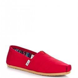 Kırmızı Toms Yazlık Ayakkabı Modelleri