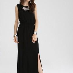 Kolsuz Siyah Elbise 2015 Sokak Modası
