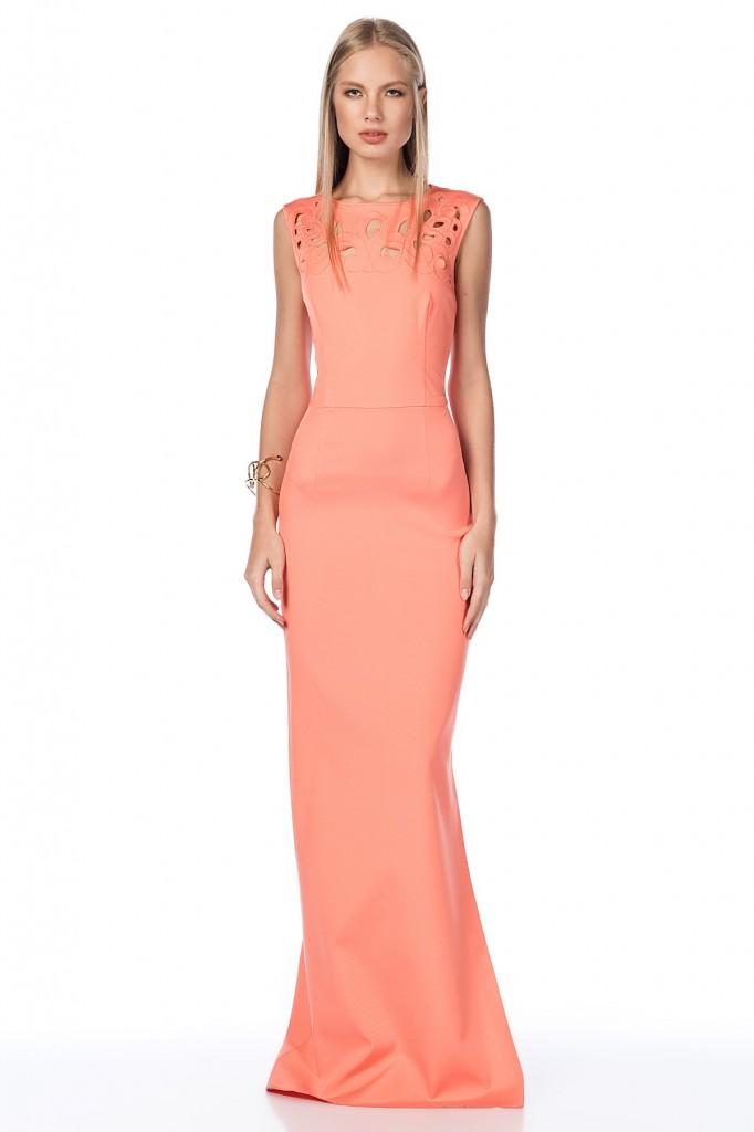 Lazer Kesim Mercan Roman Elbise Modelleri