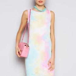 Pembe Renkli Elbise Twist 2015 Elbise Modelleri