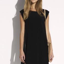 Siyah Kolsuz Twist 2015 Elbise Modelleri