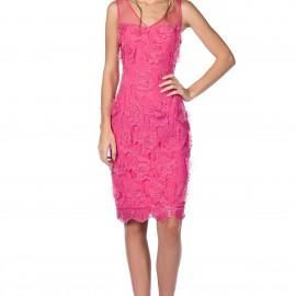 Tül Askılı Pembe Roman Elbise Modelleri