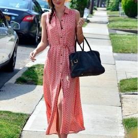 Uzun Kolsuz 2015 Gömlek Elbise Modelleri