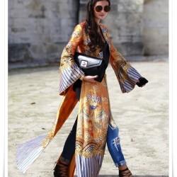 Uzun Yazlık Kimono Modelleri