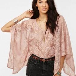 Yazlık Yarasa Kol Bluz Modelleri 2015
