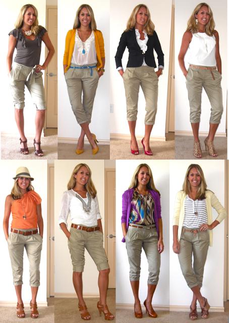 2015 yazlık bayan kapri modelleri
