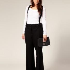 Askılı bayan pantolon modelleri 2015