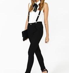 Bayan askılı pantolon modelleri