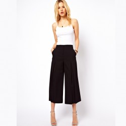 Bol paça kapri pantolon modeli