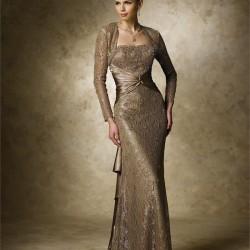 En Güzel Orta Yaş Bolerolu Abiye Modeli