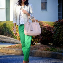 En zarif yeşil pantolon modelleri