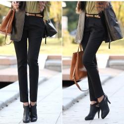 Kaliteli Siyah Kalem Pantolon Kombinleri