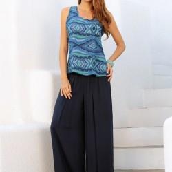 Lacivert 2015 Penye Pantolon Modelleri