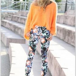Rengarenk 2015 Desenli Pantolon Modelleri
