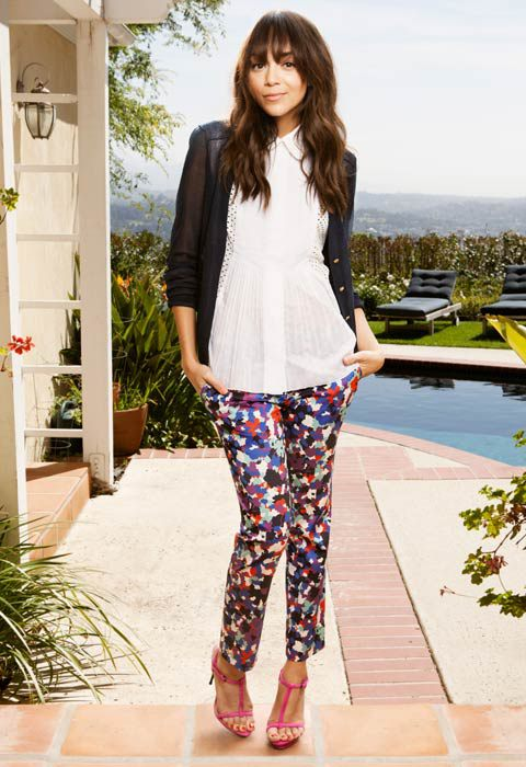 Trend 2015 Desenli Pantolon Modelleri
