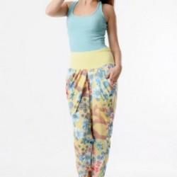 Yazlık Dar Paça 2015 Penye Pantolon Modelleri