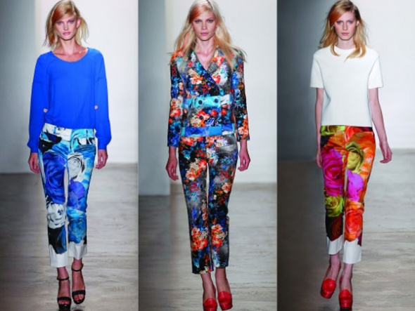 Yeni 2015 Desenli Pantolon Modelleri