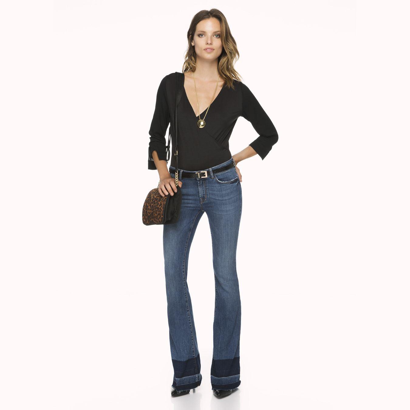 İspanyol Paça  İpekyol Jean Pantolon Modelleri