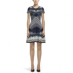 En Yeni Desenli Vakko Elbise Modelleri