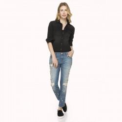 Payet İşlemeli İpekyol Jean Pantolon Modelleri