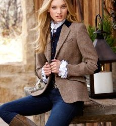 En Güzel Bayan Yamalı Ceket Modelleri