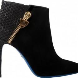 Yandan Fermuarlı Kışlık Bayan Yüksek Topuklu Ayakkabı Modelleri
